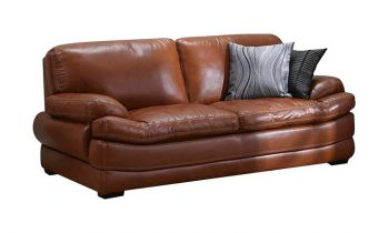 Furny Bretanny Three Seater Sofa - (Brown)