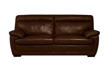 Furny Medellin Three Seater Leatherette Sofa