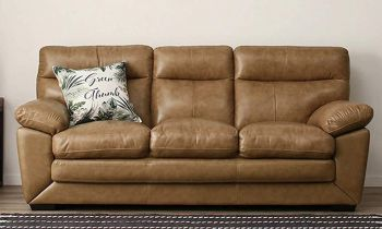 Furny Charlott Three Seater Sofa -(Beige)