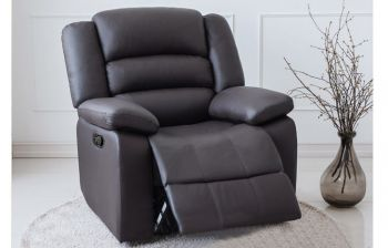 Furny Corsina One Seater Recliner (Black)
