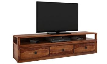 Furny Florida Teakwood TV Unit (Teak Polish)