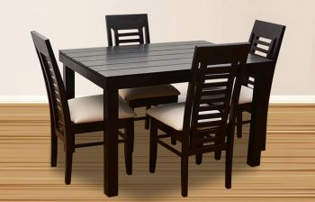 Furny Jacob 4 Seater Dining Table Set
