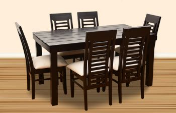 Furny Jacob 6 Seater Dining Table Set