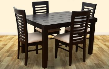 Furny James 4 Seater Dining Table Set