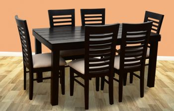 Furny James 6 Seater Dining Table Set