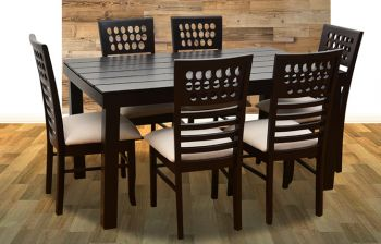 Furny Olivia 6 Seater Dining Table Set