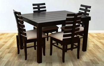 Furny Grace 4 Seater Dining Table Set