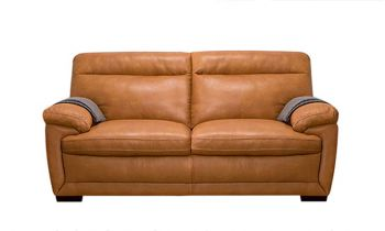 Furny Medellin Two Seater Leatherette Sofa