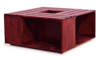 Furny Impresso Teak Wood Coffee Table