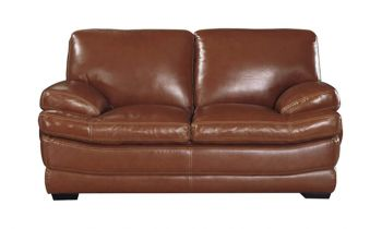 Furny Bretanny Two Seater Sofa - (Brown)