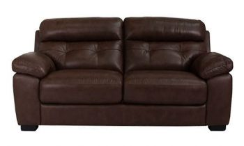 Furny Kane Two Seater Sofa (Brown)
