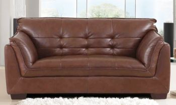 Furny Webster Two Seater Sofa (Brown)