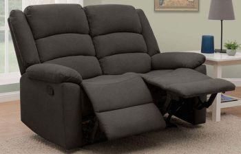 Furny Carson Two Seater Living Room Recliner Sofa