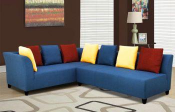 Furny Ambrosia 5 Seater Interchangeable Corner Sofa (Multi-Color)