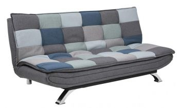Furny Casafurnish Multidion Three Seater Sofa Cum Bed (Multi-color)