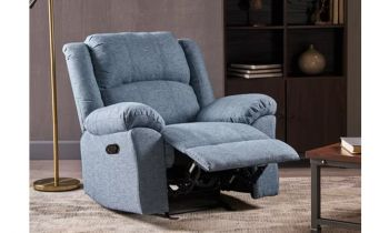 Furny Avenue One Seater Recliner (Blue)