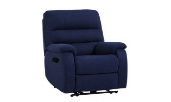 Furny Camelia One seater Recliner (Blue)