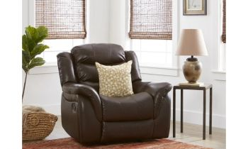 Furny Carbon One Seater Recliner (Brown)