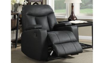 Furny Costway One Seater Recliner (Black)