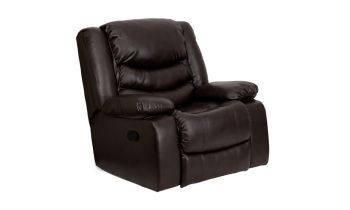 Furny Gannon One Seater Recliner (Brown)