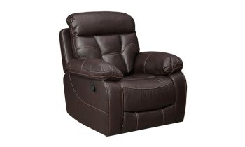 Furny Porch One Seater Recliner (Brown)