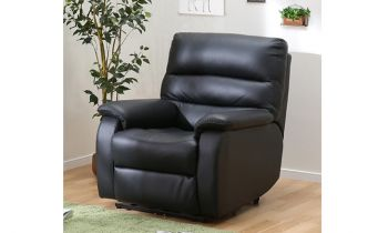 Furny Venetian One Seater Recliner (Black)
