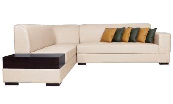 Furny Alen Six Seater L Shape LHS Sofa (Cream)