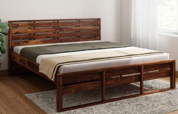 Furny Agatha TeakWood Bed