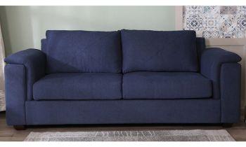 Furny Stephen Three Seater Sofa (Blue)