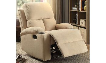 Furny Elizza One Seater Recliner (Cream)