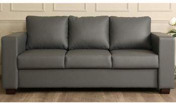Furny Harleyson Three Seater Sofa (Grey)