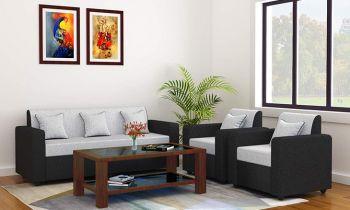 Furny Cosmo Five Seater Sofa Set 3-1-1 (Grey)