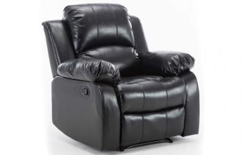Furny Bonzo One Seater Recliner (Black)