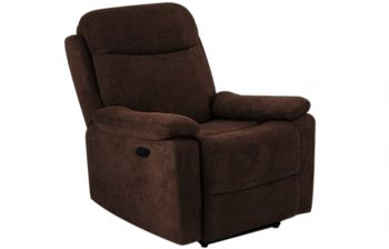 Furny Adalyn One Seater Recliner (Brown)