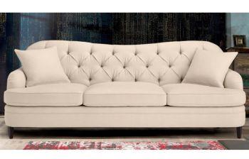 Furny Esteban Three Seater Sofa (Cream)