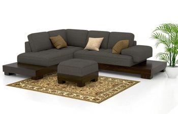 Furny Kosovo Five Seater L shape Sofa Set