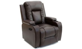 Furny Seattle One Seater Recliner with Premium Leatherette