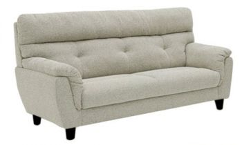 Furny Lonbay 3 Seater Fabric Sofa (Grey)