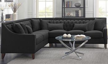 Furny Weston Six Seater Corner L Shape Sofa Set