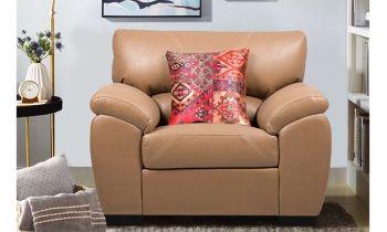 Furny Magna One Seater Sofa (Camel)
