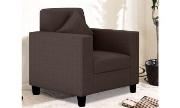 Furny Limo Single Seater Sofa (Brown)