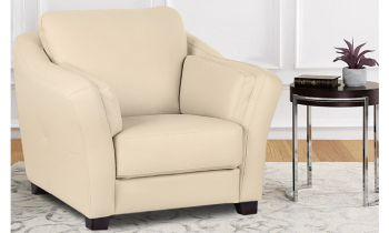 Furny Casagrande One Seater Sofa - (Cream)