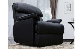 Furny Tyron Single Seater Recliner - (Black)