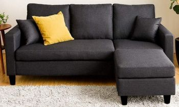 Furny Bellino Four Seater Interchangeable L shape Sofa