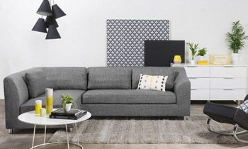 Furny Mia Four Seater L shape LHS Sofa