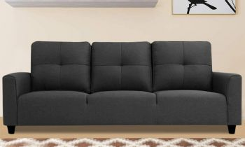Furny Altamon Three Seater Sofa (Dark Grey)