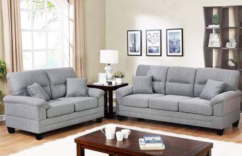 Furny Arria 5 Seater Fabric 3+2 Sofa Set