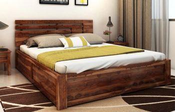 Furny Audreena Teak Wood Bed