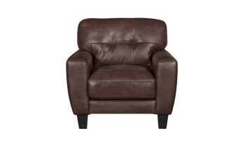 Furny Avery One Seater Sofa (Brown)