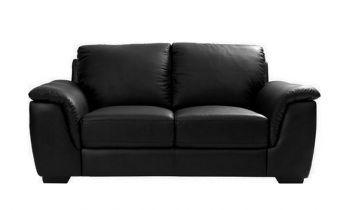 Furny Bane Two Seater Sofa (Black)